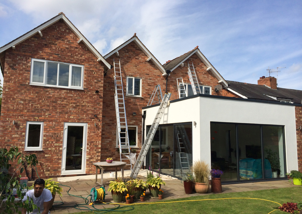 Exterior Decorator in Worcestershire