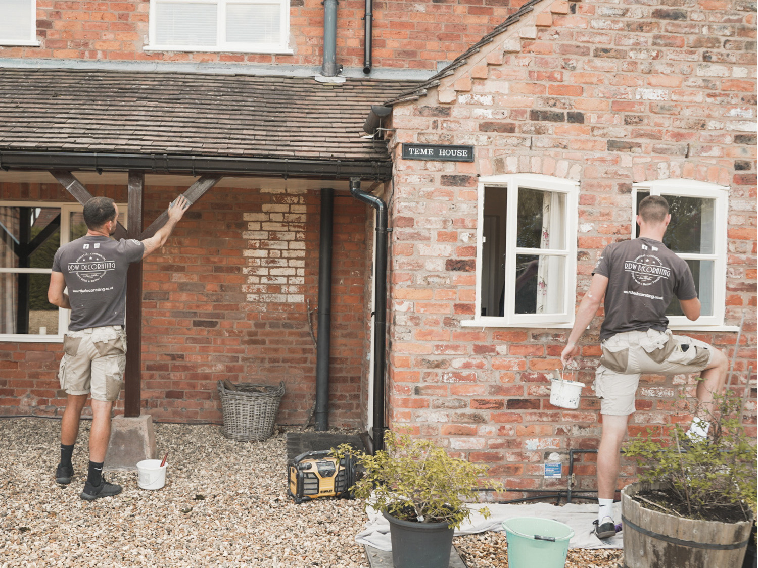 Exterior Decorators in Worcestershire - RDW